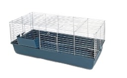 DEN-213 RABBIT CAGE 120cm ASST COLOURS