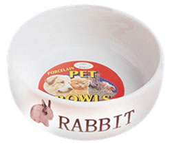 "LB-476 4.5"" PORCELAINE RABBIT DISH"