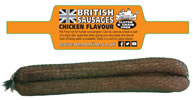 LB-249 4 PACK CHICKEN FLAVOUR SAUSAGES GLUTEN FREE IN A NET