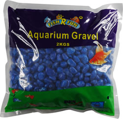 FRF-G8 COATED GRAVEL DARK BLUE 2KG