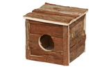 "LB-116 6"" SMALL WOODEN HOME"